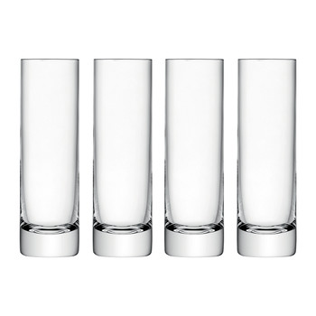 Bar Long Drink Glasses - Set of 4