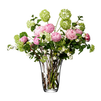 Flower Open Bouquet Vase - 23cm