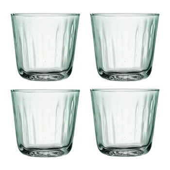 Mia Partial Optic Tumblers - Set of 4