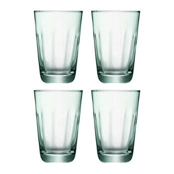Mia Partial Optic Highballs - Set of 4