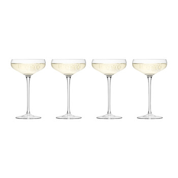 Coupes à Champagne Wine - Lot de 4