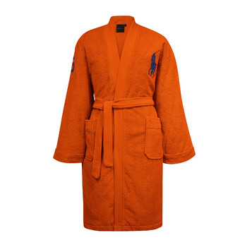 Big Polo Pony Robe - Orange