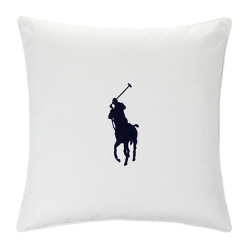 Pony Cushion Cover - 50x50cm - Navy