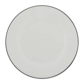 Lizzard Dessert Plates - Set of 6 - Platinum