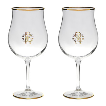 Monogram Grand Cru Glasses - Set of 2 - Gold