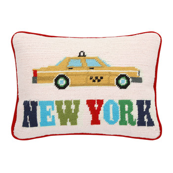 Jet Set New York Cushion