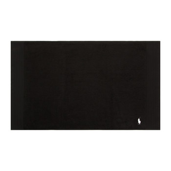 Small Logo Player Bath Mat - Black