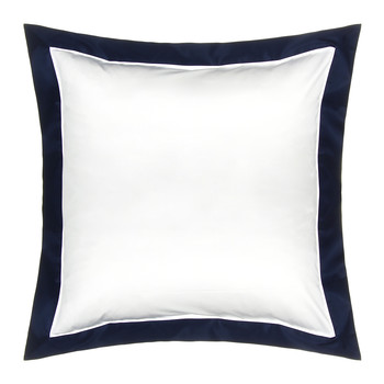 Langdon Oxford Pillowcase - Navy - 65x65cm