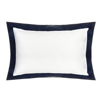 Langdon Oxford Pillowcase - Navy - 50x75cm