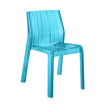 Frilly Chair - Light Blue
