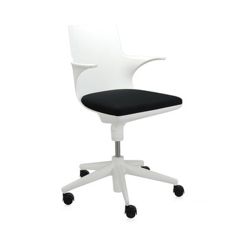 Spoon Chair - White/Black