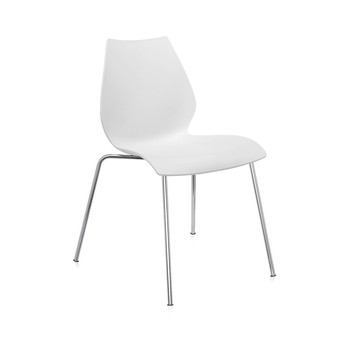 Maui Chair - Zinc White