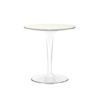 Tip Top Side Table - White