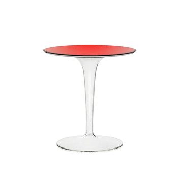Tip Top Side Table - Red