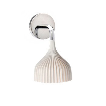 E Wall Mounted Lamp - White