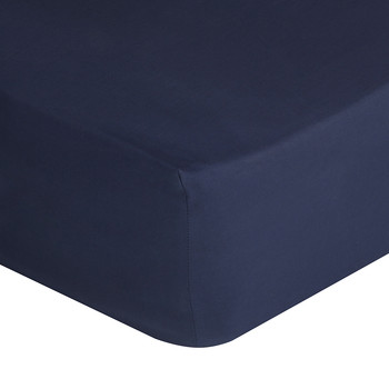 Polo Player Fitted Sheet - Navy