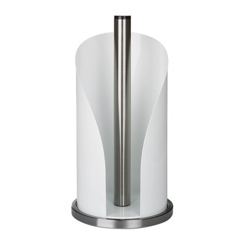 Kitchen Roll Holder - White