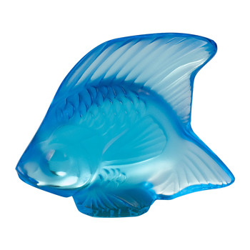 Fish Figure - Light Blue