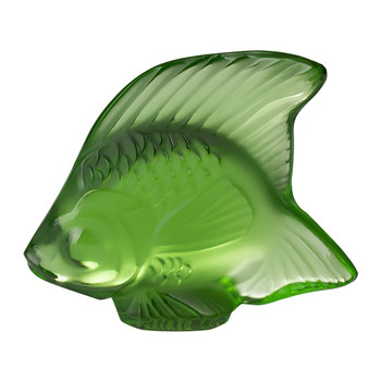 Fish Figure - Green Meadow