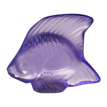 Fish Figure - Light Purple