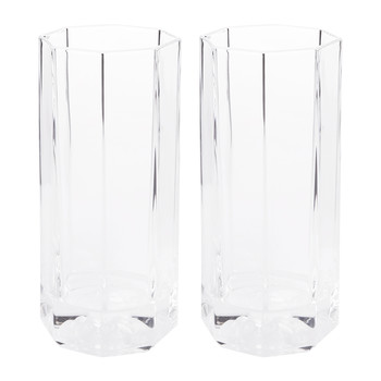 Medusa Lumiere Long Drink Glasses - Set of 2