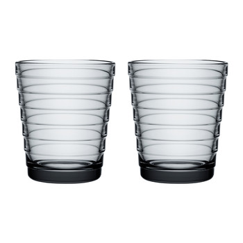 Aino Aalto Tumblers - Gray - Set of 2