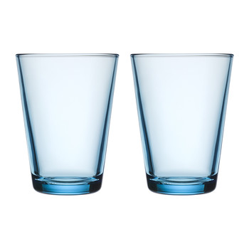 Kartio Tumblers - Light Blue - Set of 2 - Large