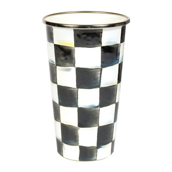 Courtly Check Enamel Tumbler