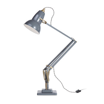 Original 1227 Brass Desk Lamp - Elephant Grey
