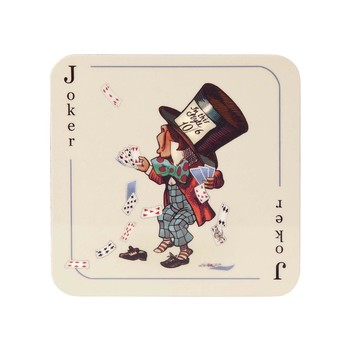 Louise Kirk - Alice in Wonderland Coaster - Joker