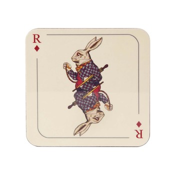 Louise Kirk - Alice in Wonderland Coaster - Rabbit