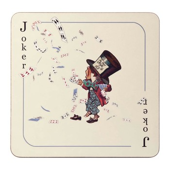 Louise Kirk - Alice in Wonderland Placemat - Joker