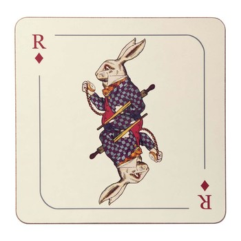 Louise Kirk - Alice in Wonderland Placemat - Rabbit