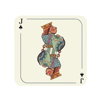 Louise Kirk - Alice in Wonderland Coaster - Jack