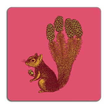 Puddin' Head - Animaux Placemat - Squirrel