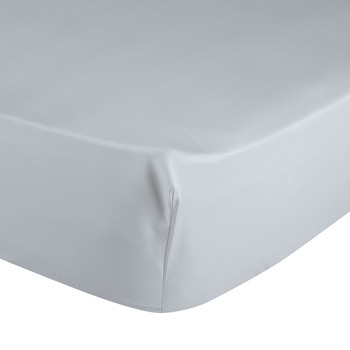 Triomphe Silver Fitted Sheet