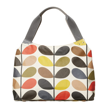 Classic Zip Shoulder Bag - Multicoloured