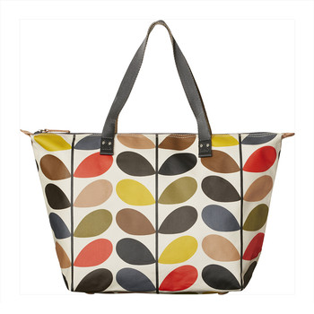 Multi Stem Zip Shopper Bag