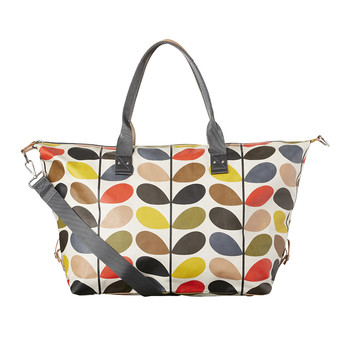 Zip Holdall Bag - Multicoloured