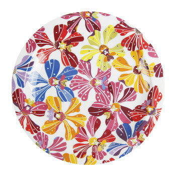 Flowers - 22cm Side Plate - Set of 2