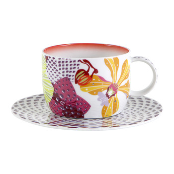 Flowers - Teetasse & Untertasse - 2er-Set