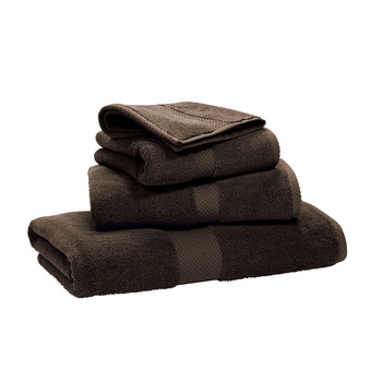 Avenue Towel - English Brown