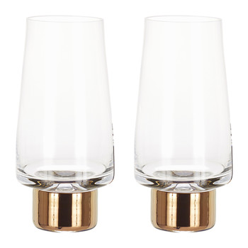 Tank High Ball Glasses - Set of 2