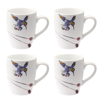 Flutter Mugs - Set of 4