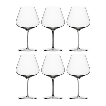 Burgundy Wine Glass - Set of 6