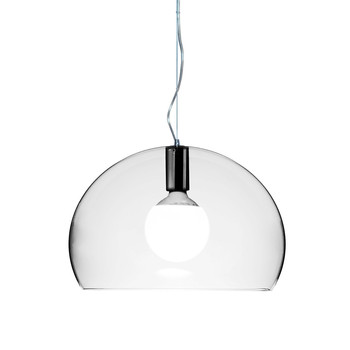 Mini FL/Y Ceiling Light - Transparent