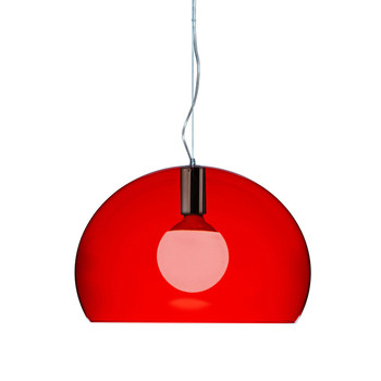 Mini FL/Y Ceiling Light - Red