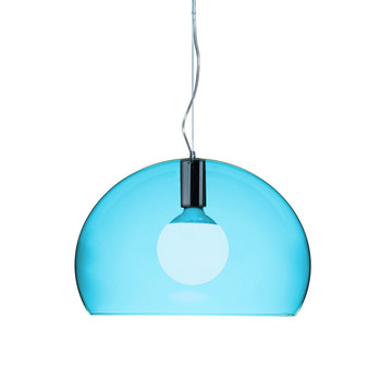 Mini FL/Y Ceiling Light - Petrol Blue