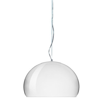 Mini FL/Y Ceiling Light - White