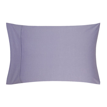 Pinpoint Oxford Lavender Pillowcase